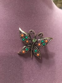 Beautiful Vintage Butterfly Brooch Pin Gainesville, 20155