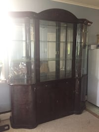 brown wooden display cabinet Florence, 08518