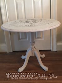 FRENCHIFY YOUR SPACE WITH THIS PARISIAN COFFEE/SIDE TABLE TORONTO