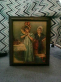 Antique Wooden Picture Greenwood, 46142