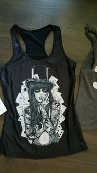 black and white tank top Windsor