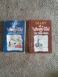 Diary of a wimpy kid 2 books Prince George, V2M 1C2
