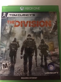 Xbox One Tom Clancy's The Division game case Georgetown, 40324