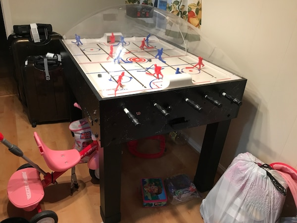 Carrom Super Stick Rod Hockey Table