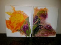 Today special Pair canvas paintings Toronto, M1E 3H9