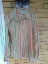 white and pink striped dress shirt 252 mi