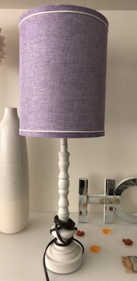 white and black table lamp Surrey