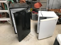Two white and black compact refrigerator in great condition and work very good Temecula, 92590