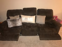 Love seat and Sofa Recliner for $350 OBO Charlotte, 28216