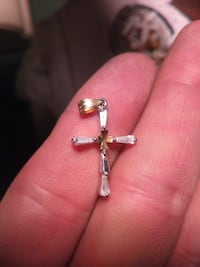 silver-colored cross pendant Evansville