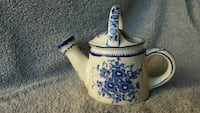 Cobalt blue Chinese porcelain water pitcher Peyton, 80831
