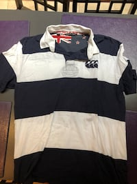 Navy and White Rugby Jersey - 2XL New York, 10013