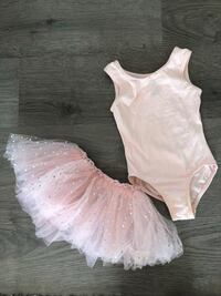 Girls ballet tutu and leotard- size 4-6X  Apex, 27502