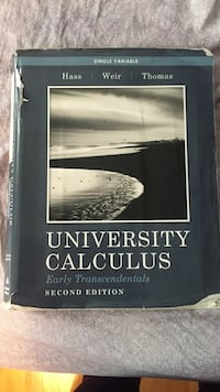 University Calculus 2nd edition Lynnfield, 01940