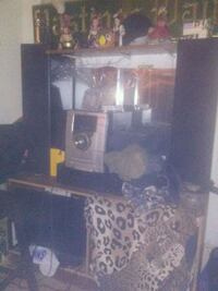 Quest speakers,toshiba t.v,sony amp and book shelf Vancouver, V6A 3A4