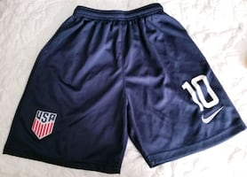 USA team short blue