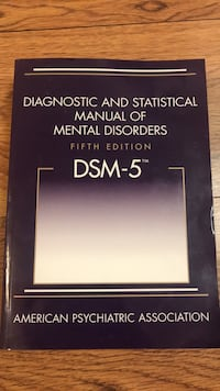 DSM  5   latest edition paperback barely used Bowie, 20721