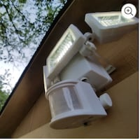 Solar lights with motion detection