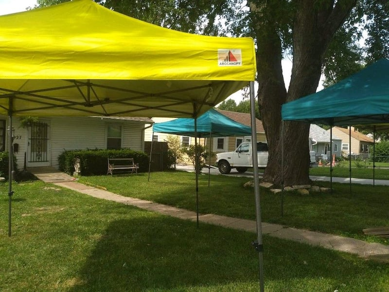 Tents are perfect for outdoor events holidays bbqs or get togethers! 9c4ea77f-0487-4ee6-a7c3-bebbc9733a9b
