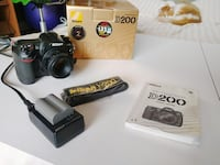Nikon D200 and charger,etc
