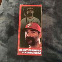 Washington Nats Danny Espinosa Fu Manchu bobble head Temple Hills, 20748