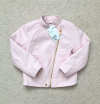 H&m baby girls moto jacket size 18-24 months- Brand new with tags Mississauga, L5M 0C5