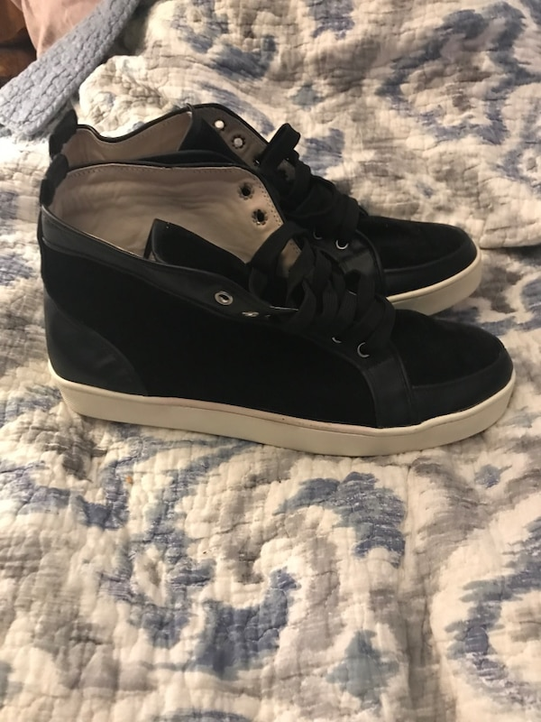 92f88af35906 Used Christian louboutin men s suede high top sneakers for sale in Dayton -  letgo