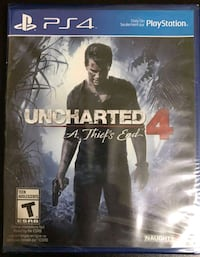 Uncharted 4 brand new, sealed Toronto, M6N