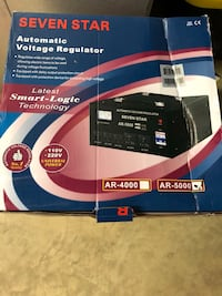 Automatic Voltage Regulator AR5000 Rockville
