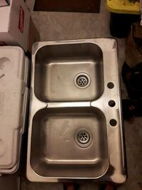 stainless steel sink with faucet Brampton, L6S 2T7