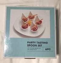 6 piece appetizer serving set, new in box Palatine, 60067