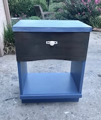 Newly Refinished Vintage Wood Nightstand  Lawrence, 66049