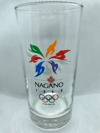 Collectible Nagano 1998 Winter Olympic Glass Vancouver, V5Y