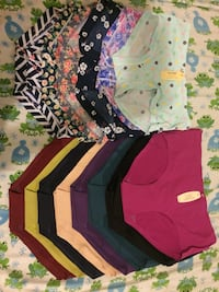 Women's assorted color panty lot