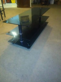 Smoked glass coffee table