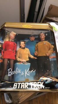 Barbie and ken Star Trek 30th edition gift set New York, 10035