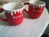 I love cocoa cups ! 2 for 6$ BRAND NEW Montréal, H3T 1B7