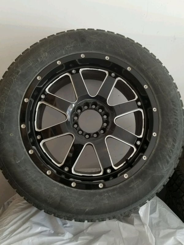 Tires with Rims 254f201a-5770-41fc-829a-e5a44bcdf692