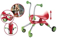 COOL RED & GREEN FOLDABLE KIDS RIDE ON!! Edmonton, T6R