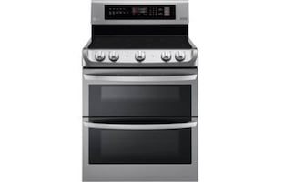 Brand New LG 7.3 cu ft Elec Double Oven Range w/ProBake Convection