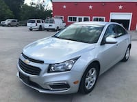 Down payment $1500 chevy - cruze  - 2015 Houston