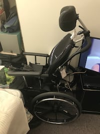Black and gray motorized wheelchair Vaughan, L4J 0E6