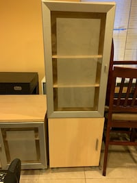 TV cabinet and side cabinet