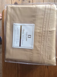 Brand new set of King size sheets