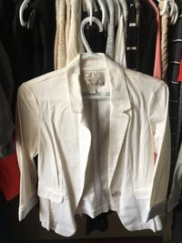white zip-up jacket Airdrie