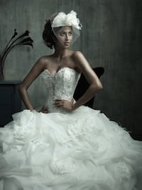 Gorgeous Allure Couture Ball-gown style wedding dress