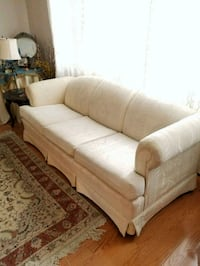 white fabric 3-seat sofa Annandale, 22003