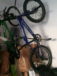 mountain bike hardtail blu e verde Parabiago, 20015
