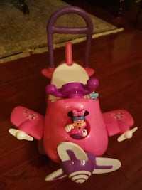 Disney Minnie Plane Ride-On Toy Silver Spring, 20906