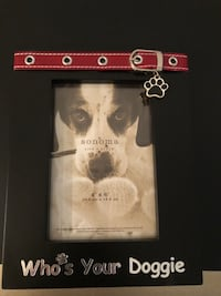 Brand new dog picture frame